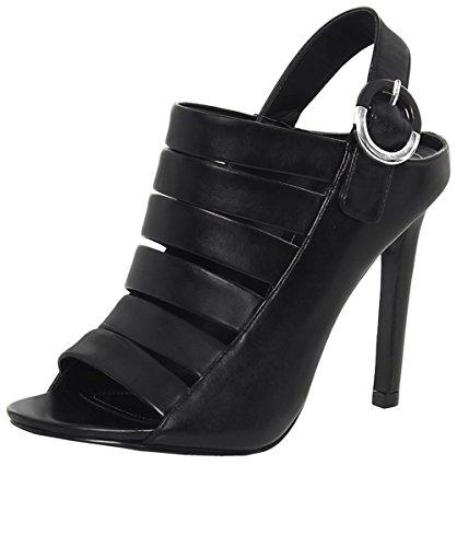 Kendall Noir Sandales Mia Kylie Femme pq0BzT