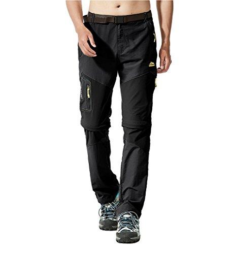 [MAGCOMSEN] アウトドアパンツ メンズ 2WAY ハーフパンツ ロングパンツ コンバーチブル ミリタリー ズボン カジュアル スポーツ 通気速乾 軽量