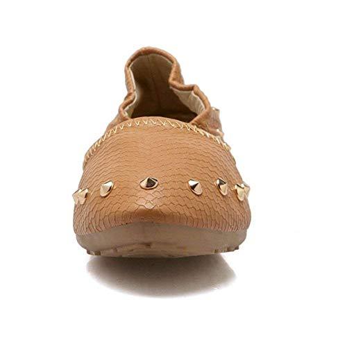 Femmes Qiusa Slip Chaussures Pumps On HSAaSxqw1