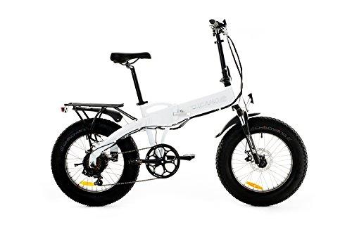 Tucano Bikes Monster HB Bicicleta Eléctrica Plegable, Blanco (Benz), Talla Única: Amazon.es: Deportes y aire libre