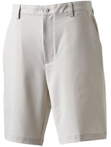 FootJoy NEW PERFORMANCE FLAT FRONT GOLF SHORTS STONE 32