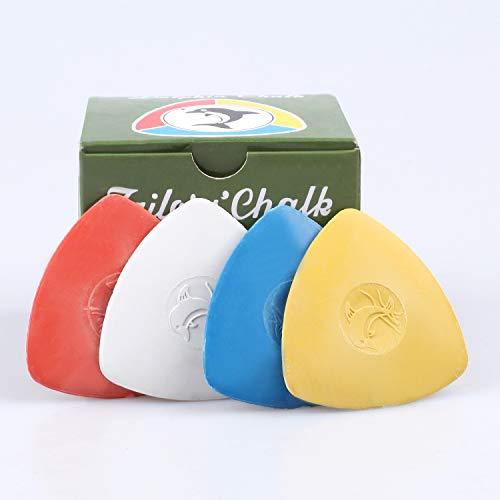 Tizas para costura y telas caja 12 u. 4 colores