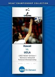 1983 NCAA(r) Division I Women's Volleyball National Championship - Hawaii vs. UCLA