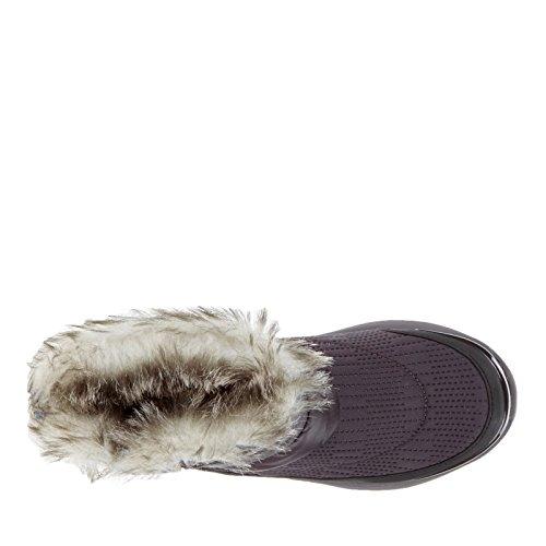 Puffer BZees Energy Women's Mesh Urban Granite Faux Fur Ankle Nylon Boot 001wp
