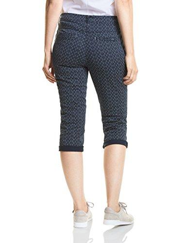 deep Cecil Donna Blue Blu 20128 Pantaloni S40Bqp8