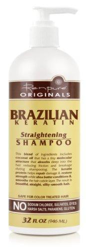 Renpure Originals 2000 Brazilian Keratin Straightening Shamp