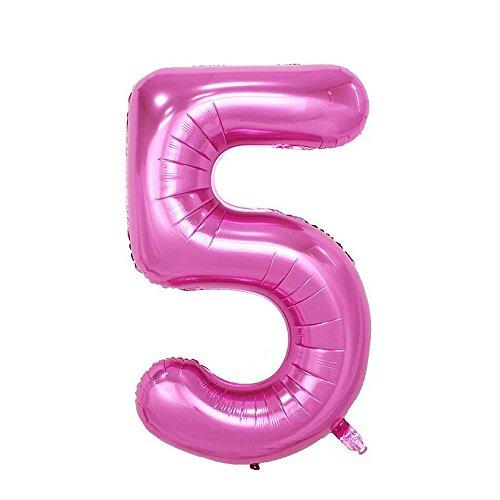 Pink Mylar Balloon - 1