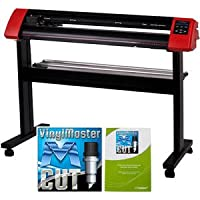 50-inch USCutter LaserPoint II Vinyl Cutter with VinylMaster Cut (Design and Contour Cut Software)