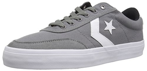 Converse COURTLANDT Low TOP Sneaker, Mason/White/Black, 10 M US