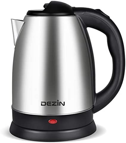 Dezin Electric Kettle Upgraded, 2L Stain