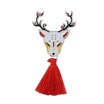 Ciervo Japonés Conejo Serpiente Fox kabuki Máscara Ninja con ...