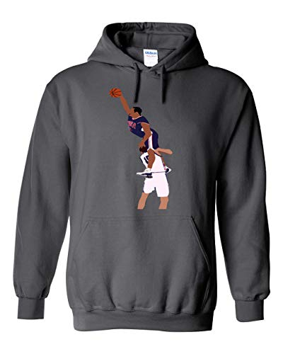 Grey Olympic Carter The Dunk Hooded Sweatshirt Youth ()