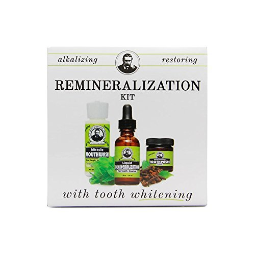 Remineralization Kit with Tooth Whitening Toothpaste Polish (1 Kit) by Uncle Harry's Natural Products