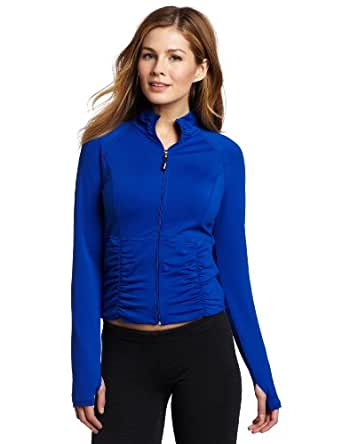 Calvin Klein Performance Women's Jump Start Crop Jacket, Marine, Small