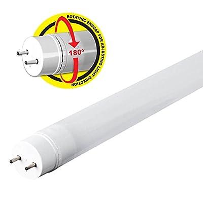 Feit Electric T48/41K/LED/2/RP 4FT LED Linear 41K 2K 2PK, White, 2 Piece