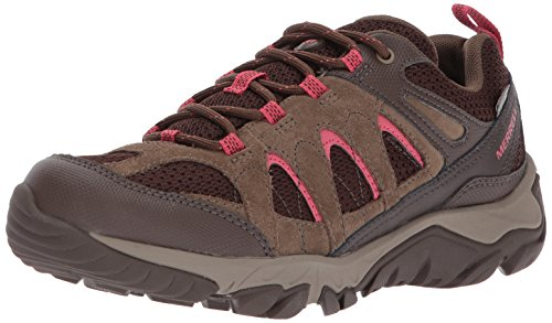 Merrell Women's Outmost Vent Waterproof Hiking Shoe, Canteen, 9 M US (Waterproof Canteen)