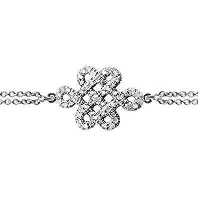 Amazon Endless Knot Diamond Bracelet Tibetan Symbol Of Endless