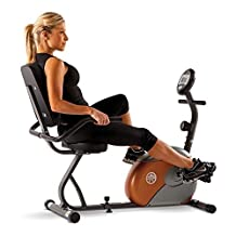 Recumbent Exercise Bike Fitness Stationary Bicycle Cardio Workout Indoor Cycling by Marcy