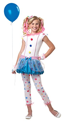 California Costumes Dotsy Clown/Tween Costume, One Color, -