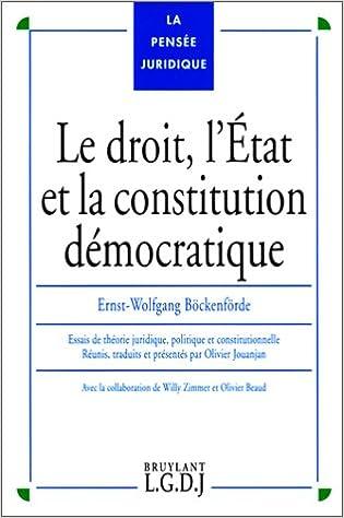 Ebooks Gratuits A Telecharger Pdf Droit L Etat Et La Constitution