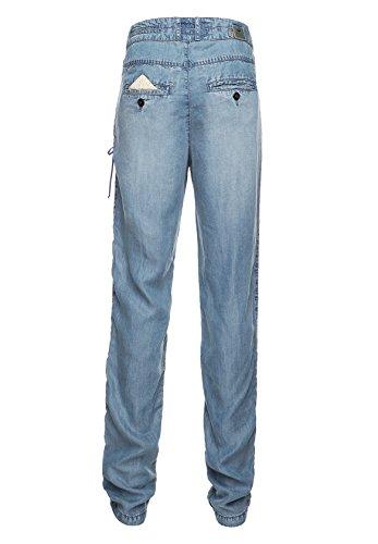 Básico Vaquero Mujer Para Khujo Pantalón Azul Bwx5A