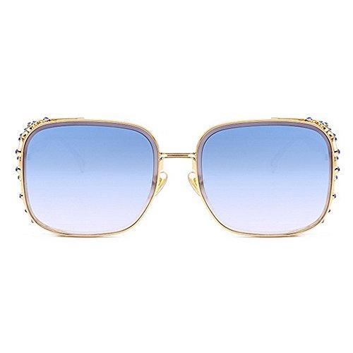 de playa de de para moda conducción las Tonos de de personalidad mujeres verano sol de del protección ULTRAVIOLETA vacaciones ojo cristalino las la marco la agraciado elegante para de C5 Gafas Proteccion d4OxtwgO