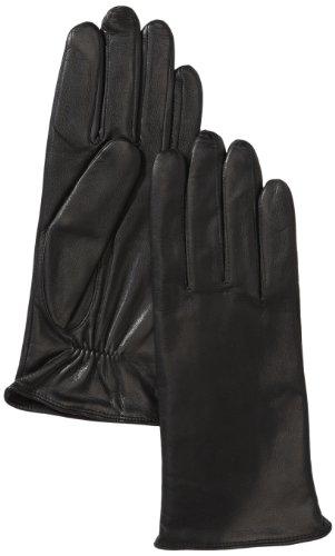 Roeckl Damen Handschuhe Klassiker Basic, Einfarbig, Gr. 7.5, Schwarz (black 000)