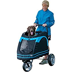 Pet Gear Roadster Pet Stroller For Cats And Dogs Black Blue