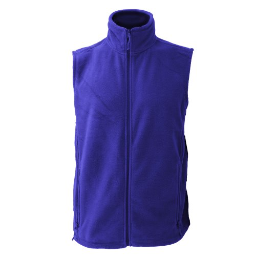 Jerzees Colour Fleece Gilet Jacket/Bodywarmer Bright Royal