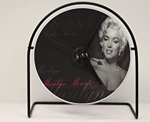 """Marilyn Monroe Picture CD Clock That Plays The Song """"Diamonds Are A Girls Best Friend"""""""