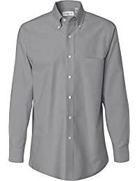 Amazon.com: Grey - Casual Button-Down Shirts / Shirts: Clothing ...