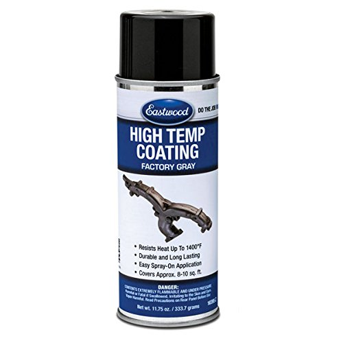 Eastwood High Temperature Resistant Factory Gray Coating Aerosol - Ounce 11.75 Aerosol