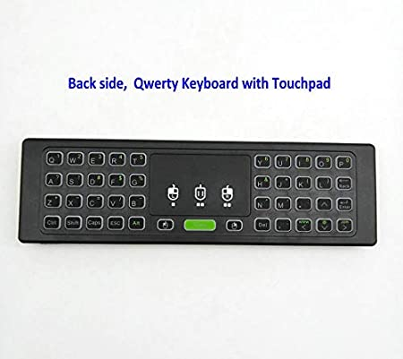 Calvas MX3 2.4G Air Mouse Mini Wireless Keyboard Qwerty Infrared Remote Control No Mic