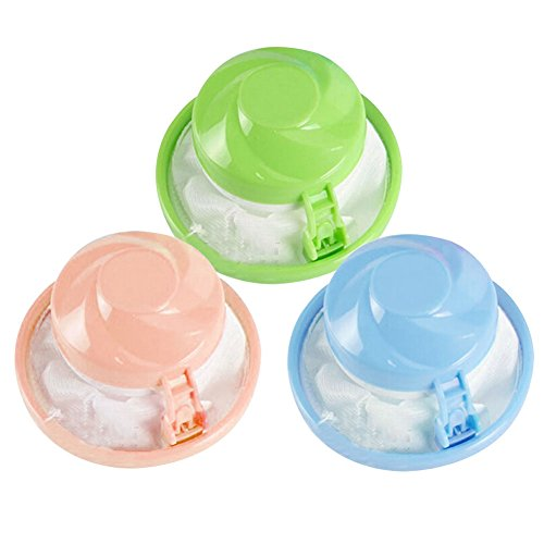 BleuMoo Hair Ball Removal Tool Washing Machine Hair Ball Suction Remover Stick Bag