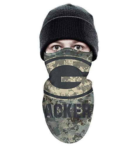 RHARAD Half Balaclava Fleece Winter Warm Camouflage Camo Winter Face Mask for Mens Womens