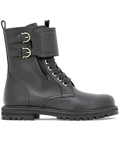 Leather Women's Ferragamo Boots Salvatore 0672350 Black Ankle U61nqzx