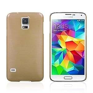 MOFY-Cubierta de lujo de Crystal Dibujo telŽfono para i9600 Galaxy SV S5 , Oro