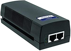 BV-Tech Gigabit Power Over Ethernet PoE+ Injector | 30W | 802.3 af/at | Plug & Play | up to 100 Meters (325 Feet)