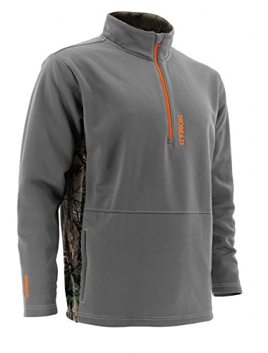 Nomad Southbounder 1/4 Zip Fleece, Realtree Xtra, Medium