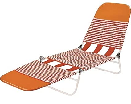 Amazon Com Worldwide Sourcing S65002 O Pvc Folding Lounge Orange
