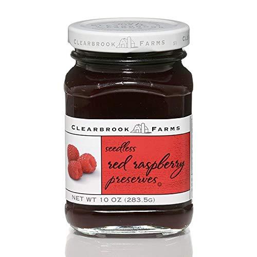 Clearbrook Farms Sdls Red Raspberry Preserves - 10 oz Twist Top Jar
