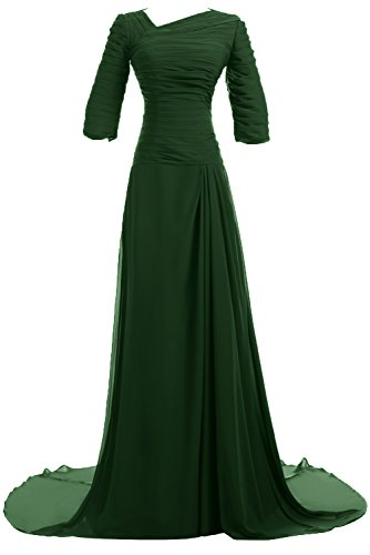 Sunvary Vintage Half Sleeves Chiffon Mother of Bride Dresses Long Party Dresses