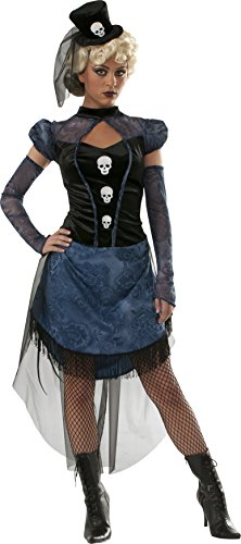 Steampunk Witch (Rubie's Costume Women's Blood Line Adult Steampunk Mistress Costume, Multi, Small)