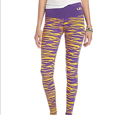 c252f900fe284 Amazon.com : Loudmouth LSU Tigers Leggings (Tiger Print) - S/M Slim ...