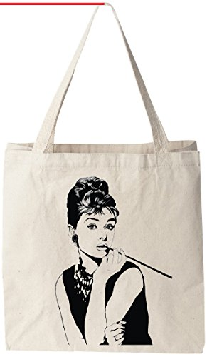 Audrey Hepburn Reusable Groceries Shopping