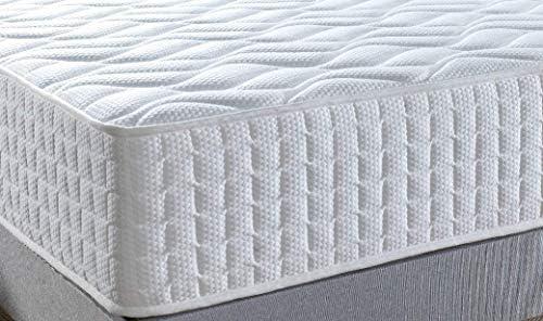 Viscoelastico /& Latex 105x190x30 cm.: Confort de Hotel Alta Gama Colch/ón Marbella 30 cm de Grosor Acogida suave con firmeza Alta Ayuda a reducir los dolores de espalda.