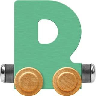 product image for Maple Landmark NameTrain Pastel Letter Car D - Made in USA (Green)