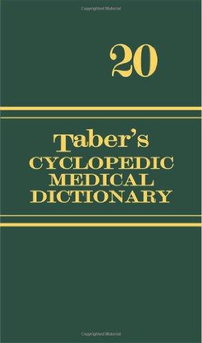 Taber's Cyclopedic Medical Dictionary: 20th Edition (Thumb Index)