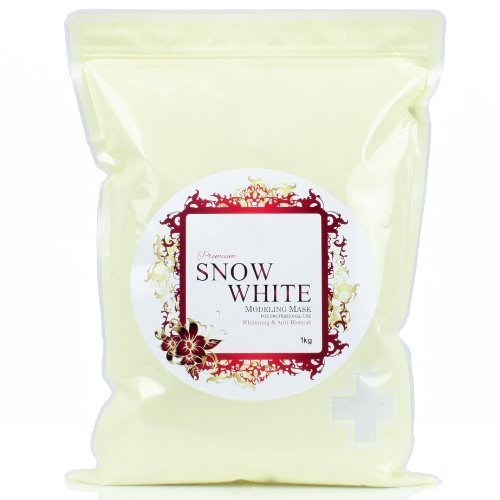 2500ml Premium Snow White Modeling Mask Powder Pack for Whitening, Anti Blemish