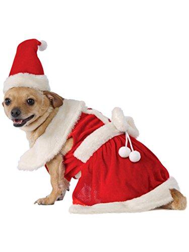Rubie's Mrs. Claus Dog Costume]()